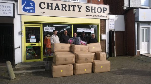SEWA UK DONATES SLEEPING BAGS TO HOMELESS (PDF)